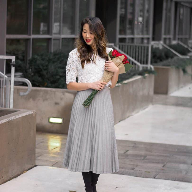 At first look, the midi-skirt might seem like a challenging length, but in actually it's very flattering. 8 idea on how to wear a midi skirt..