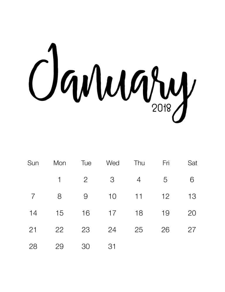 We have had all different themes but there are still some that just love a straight up plain calendar