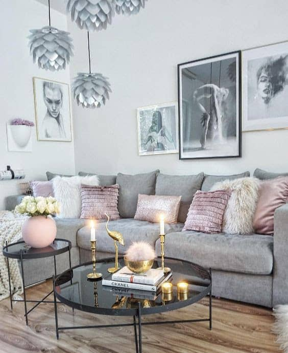 Using any combination of these tips can help your living room go from stark and cold to warm and inviting. Most of these additions are pretty simple too, so start cozifying your living space now and get ready to settle in for comfortable and relaxing winter.