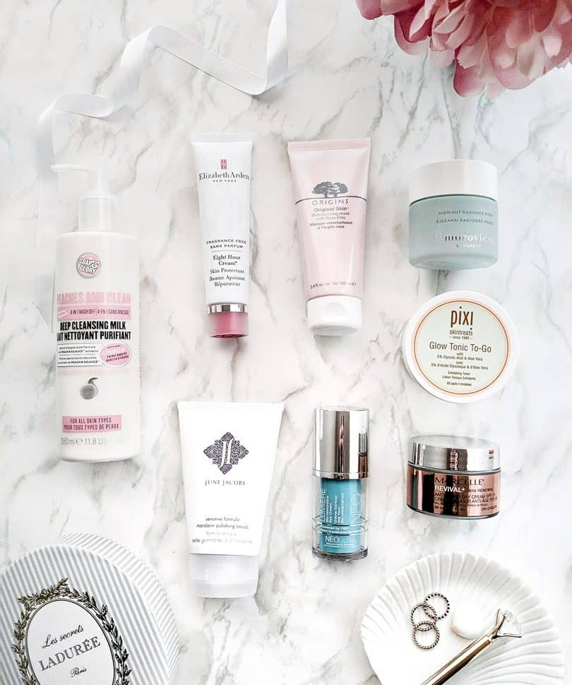 Skincare & Beauty Favorites: Pink clay mask from Origins, 8 Hour Cream Elizabeth Arden, June Jacobs, Pixi and more