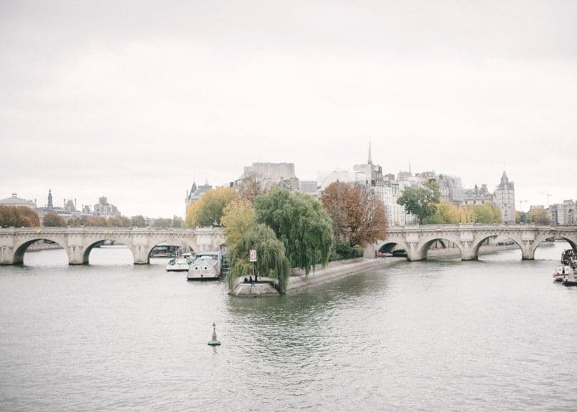 The Seine River runs through the heart Paris. #traveldiaries #wanderlust
