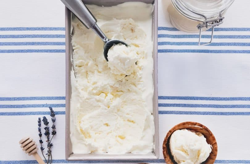 How to make delicious homemade ice cream with just 4 simple ingredients!