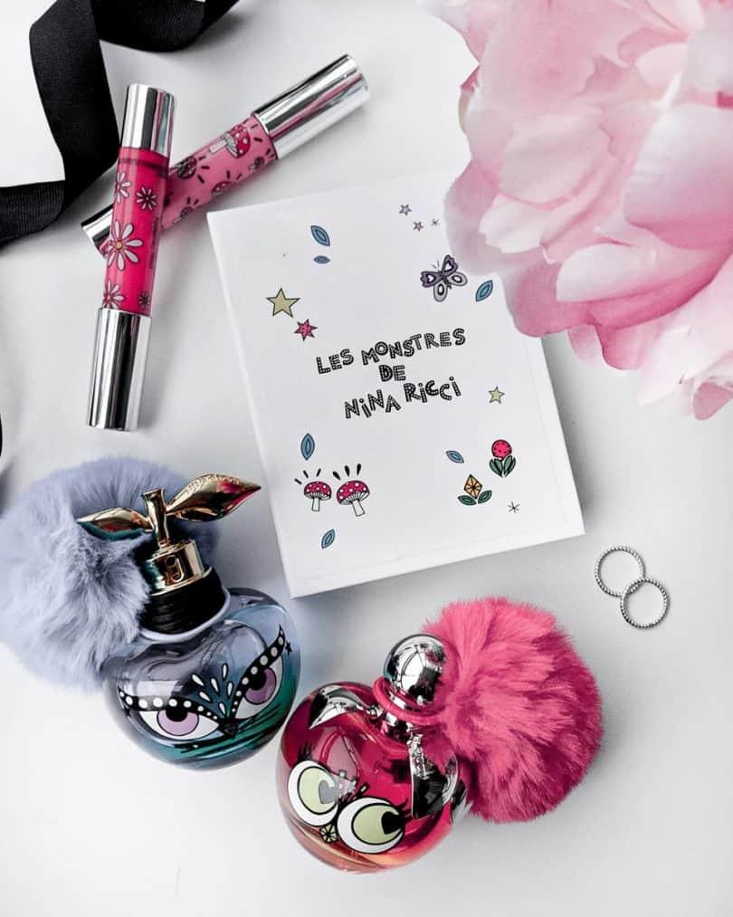 Beauty Flatlay: Nina Ricci Les Montres Luna Nina perfume launch