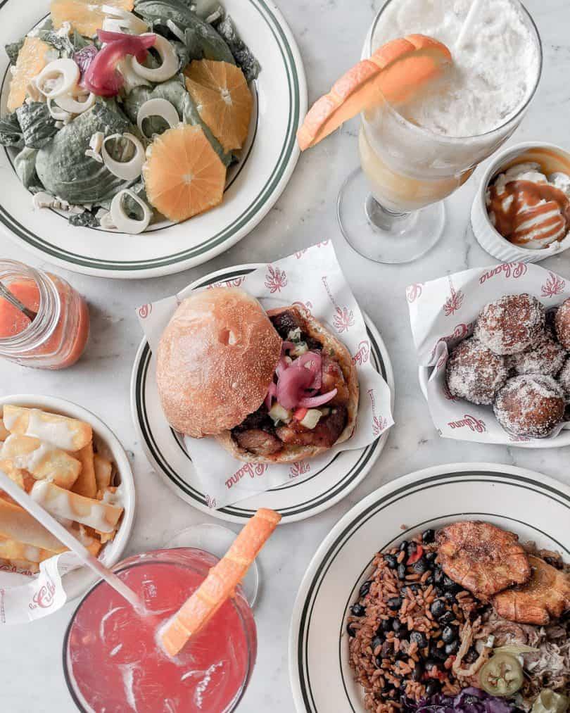 Food flatlay: Foodee x La Cubana Giveaway ...more at yesmissy.com