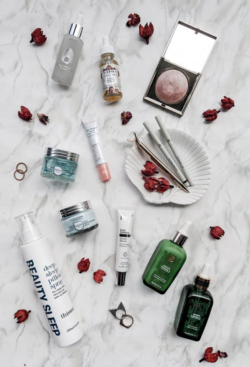 Summer makeup and beauty favorites from Stila, L'Occitane, This Works, Elizabeth Grant and more...