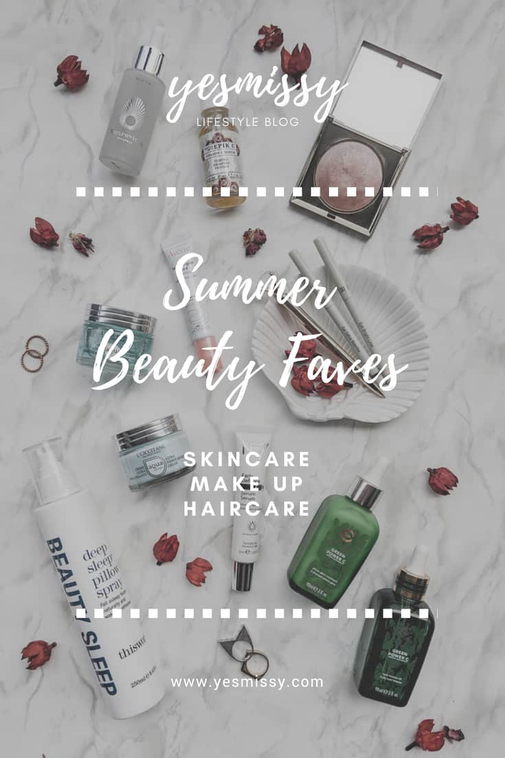 Summer beauty faves: best in skincare, makeup and hair care