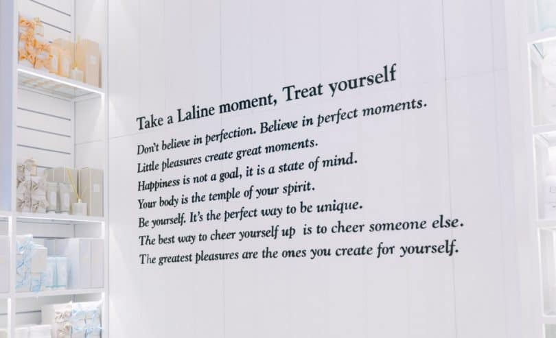 A Laline Moment: the philosophy behind the Laline bath and body brand