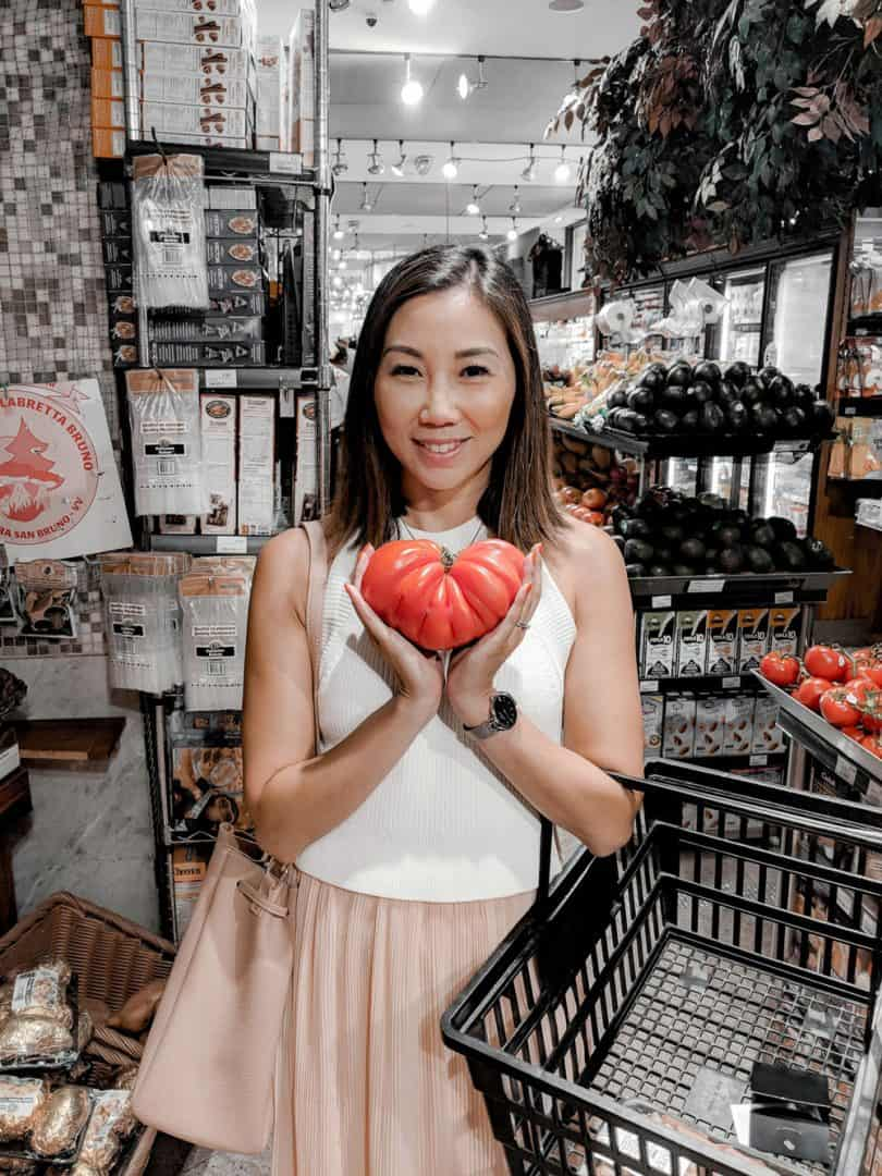 Shopping at Puseteri's Find Foods and came across this adorable heart shaped heirloom tomato.