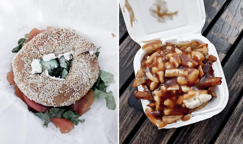 Bagels and poutine and two other Montreal specialties!