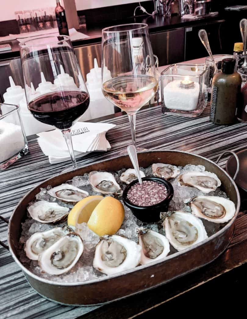 Montreal has amazing seafood restaurants... see more on my Montreal travel diary