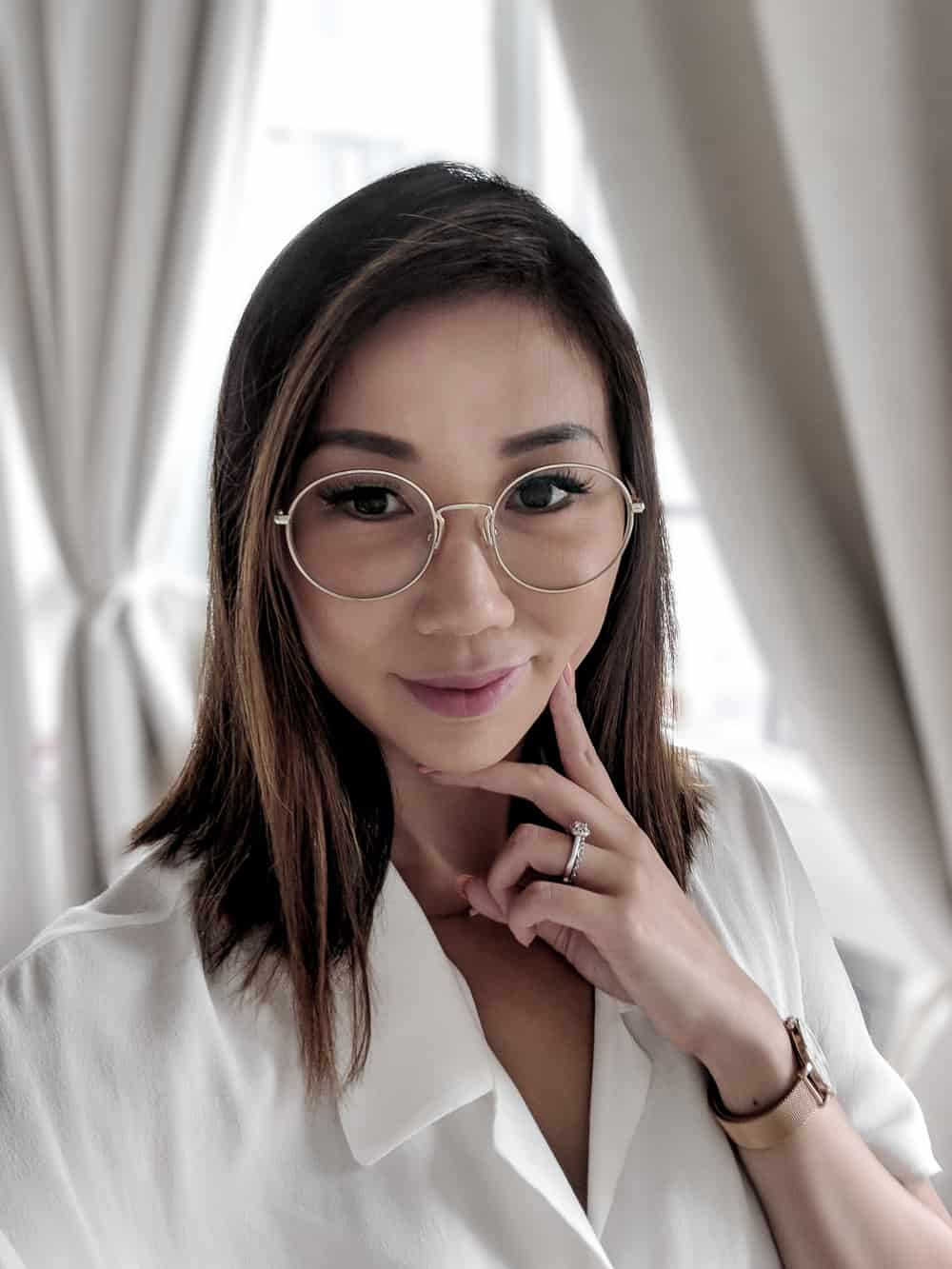 My new glasses from Clearly.ca - a review on buying glasses online