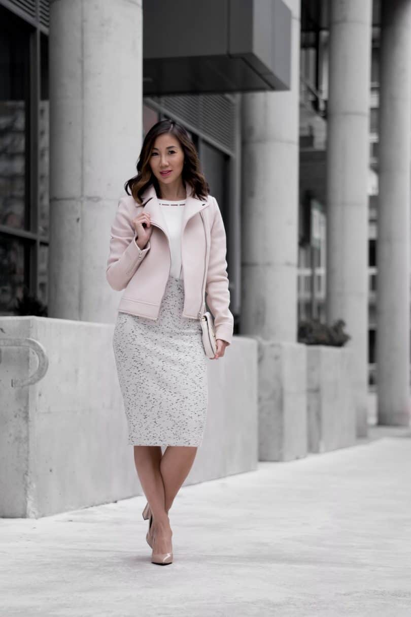 Toronto style blogger YesMissy in Ann Taylor workwear