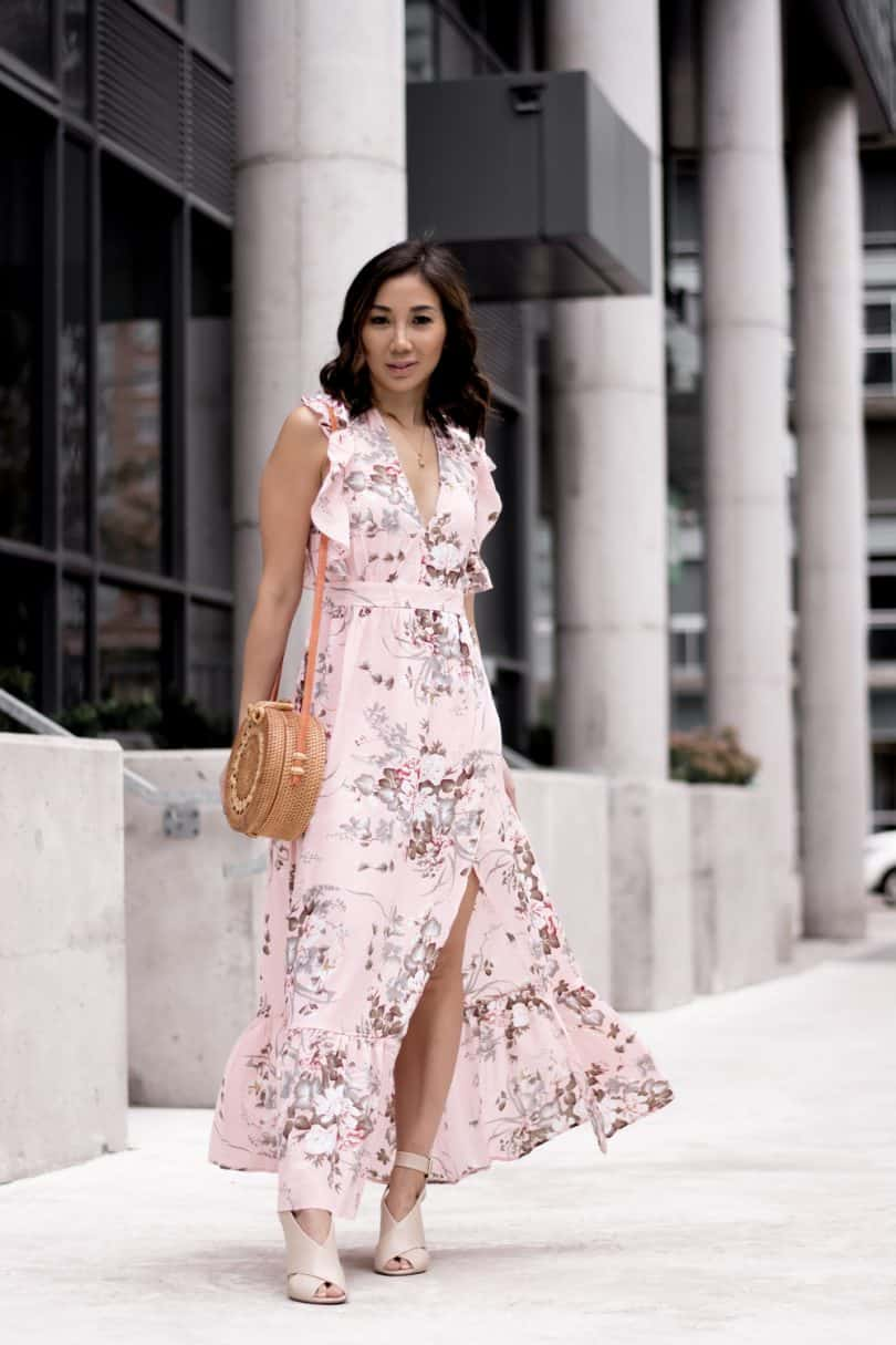 The change of seasons has inspired me to write this post on embracing changes... Summer floral maxi dress from Shein