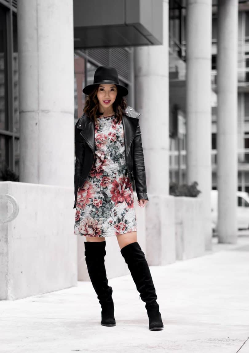 Toronto fashion blogger YesMissy wearing 3rd Floor Studio, Mackage, Aldo and Rag and Bone