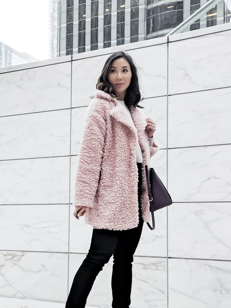 Obsessed with teddy bear jackets right now, this one was only $40 from...