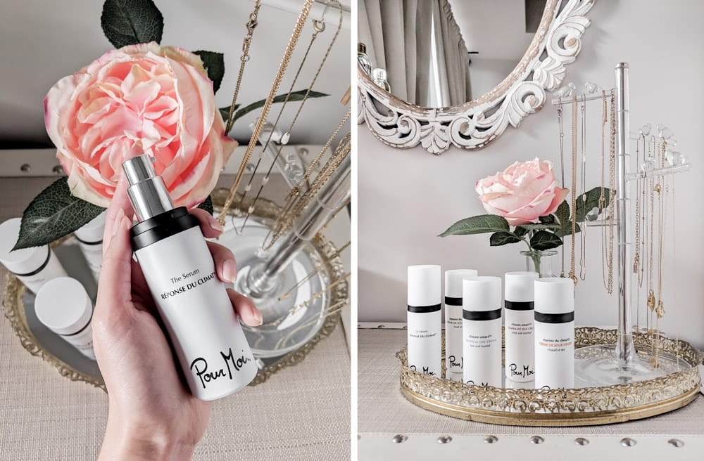 Beauty post: skincare review for Pour Moi Skincare, climate based skincare