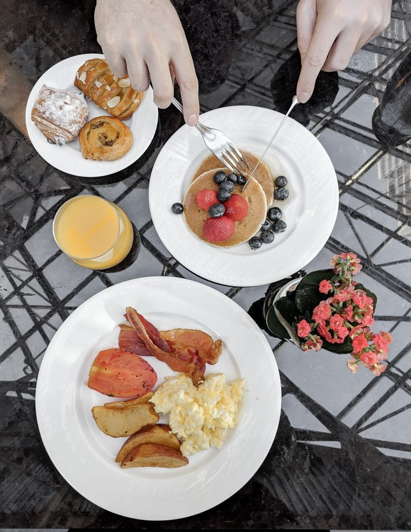Breakfast Buffet at the Intercontinental Hotel - Holiday Staycation