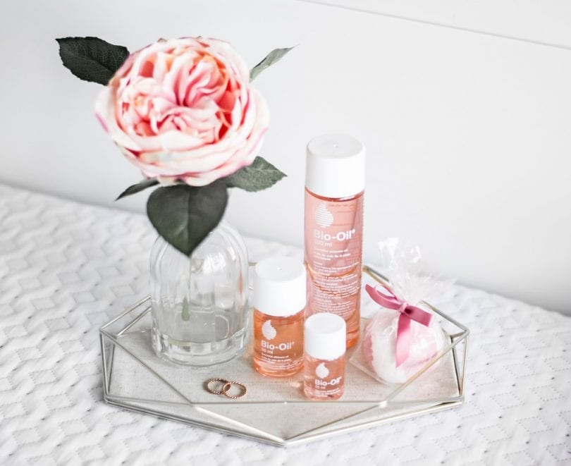 Bio-Oil is great for mani-pedis, baths, and hair masks...