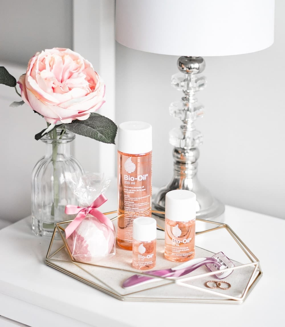 How to pamper yourself with an in home spa day with Bio-Oil