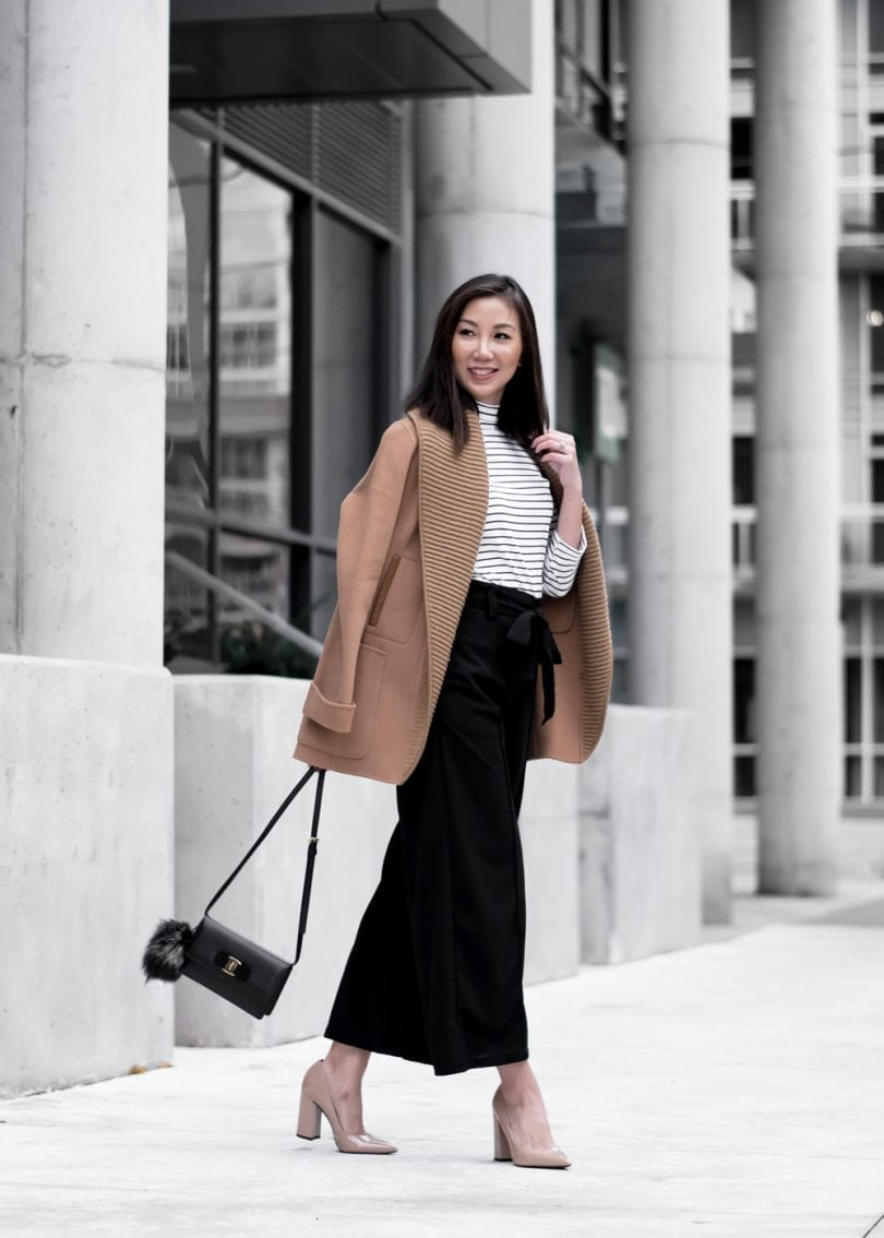 Streetstyle OOTD: Ferragamo bag, Mackage wool coat