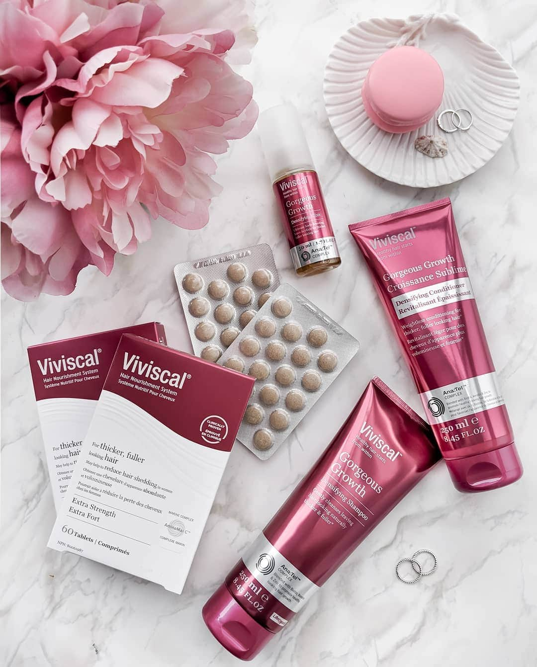 Viviscal Advanced Hair Health Supplements Discover the clinically proven, drug free answer to thicker and fuller hair