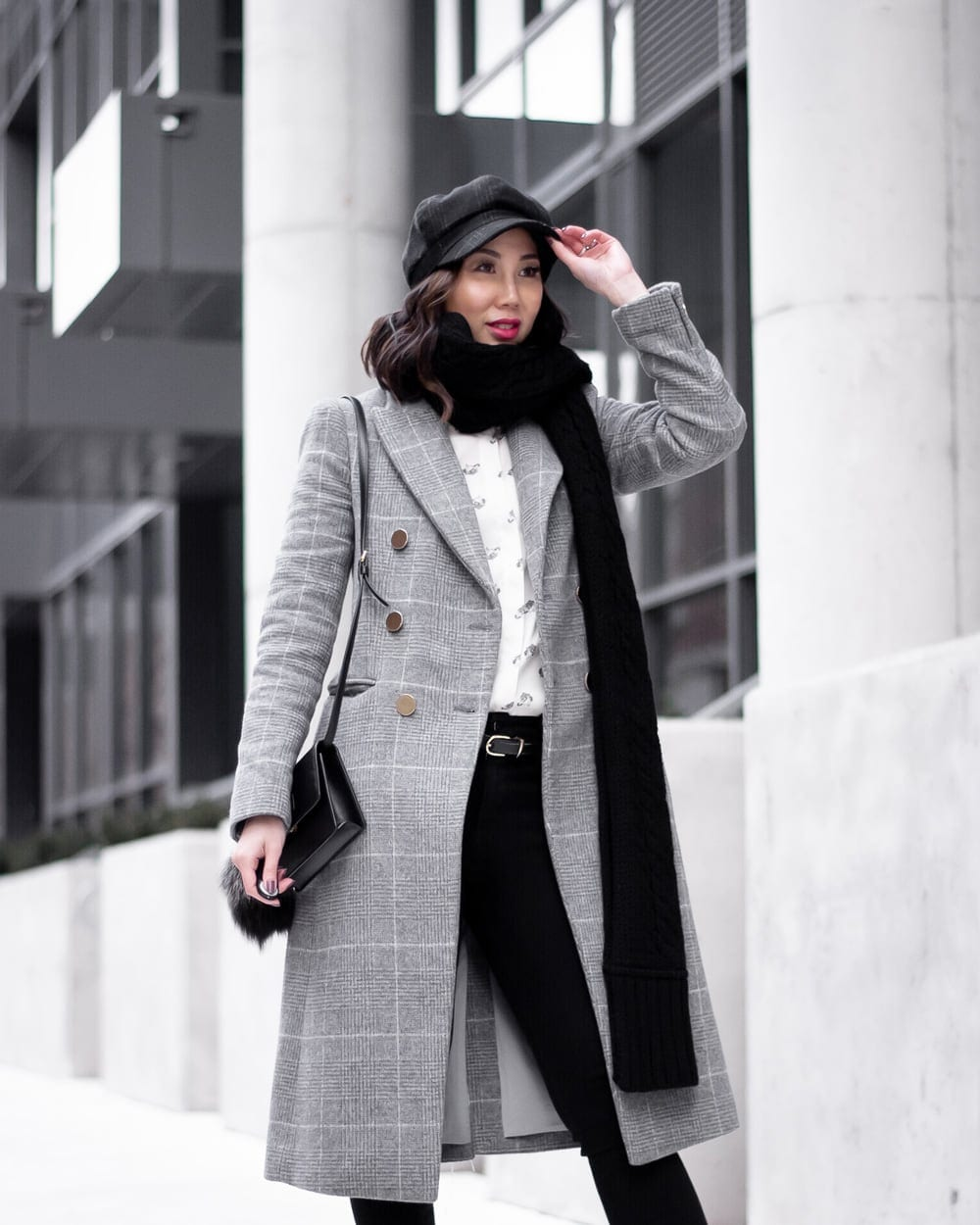 Dressing for the cold - winter ootd