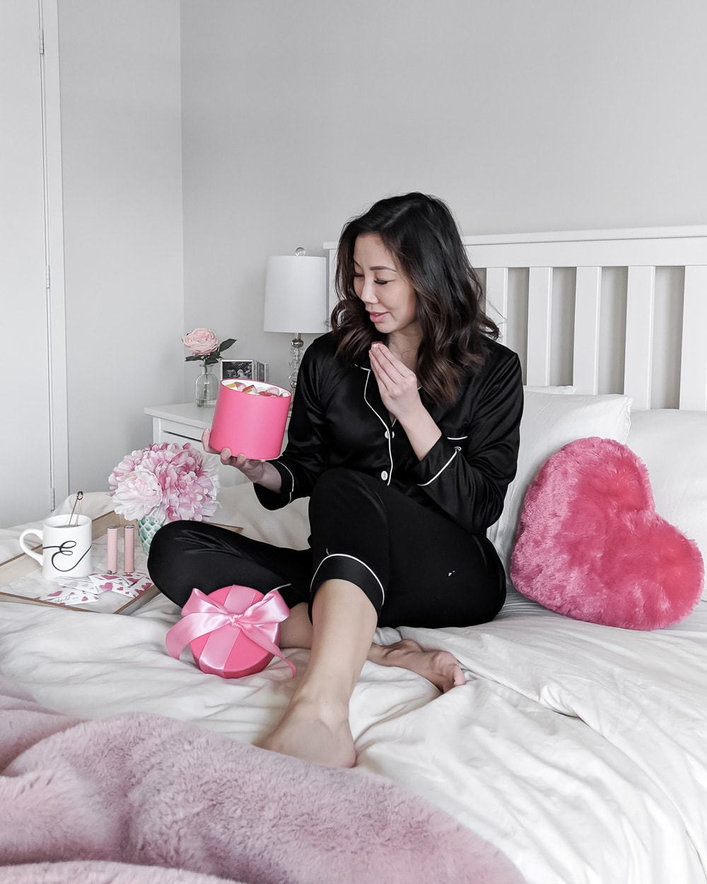 Black Pj's with Piping - Style Blogger YesMissy