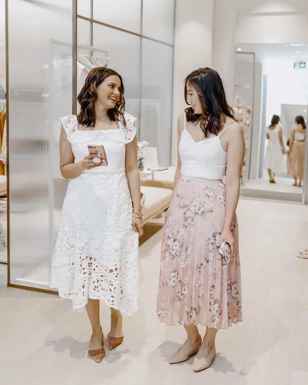 Evernew store opening at Square One - Toronto Fashion bloggers YesMissy EllaPrettyBlog