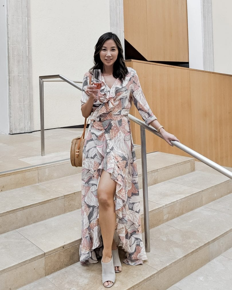 Printed Maxi Dress - Summer outfit ideas