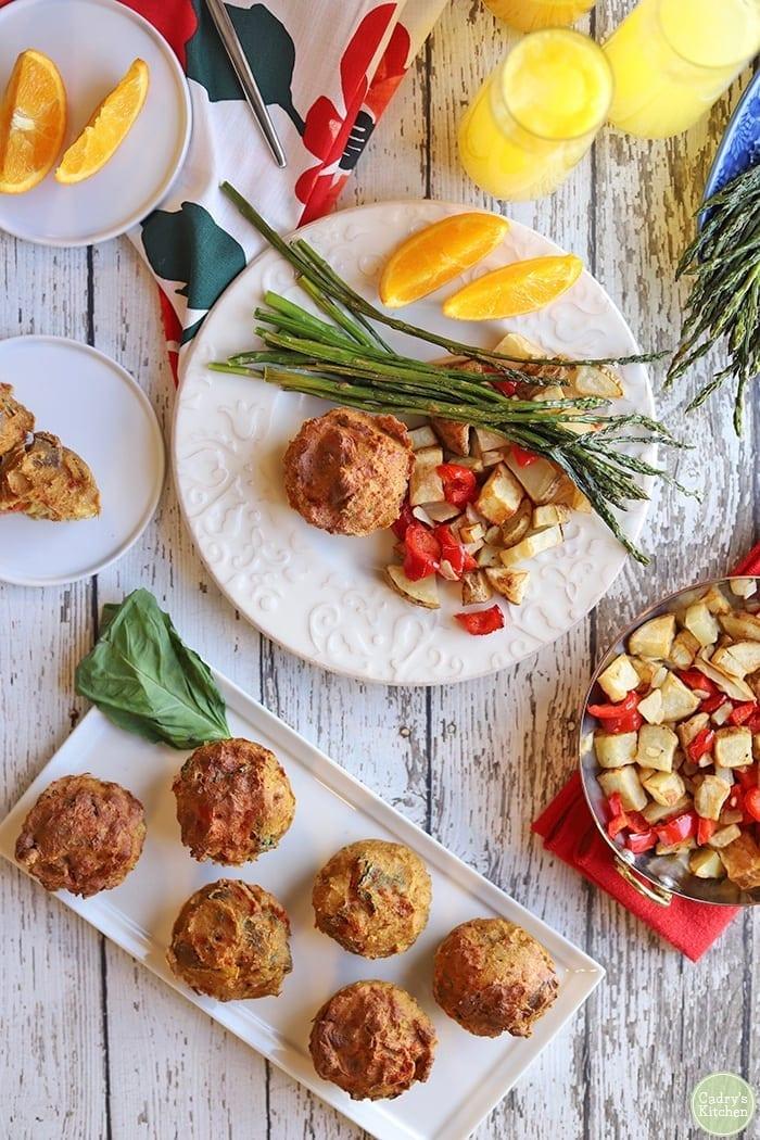 Vegan Brunch Ideas - Veggie Quiche