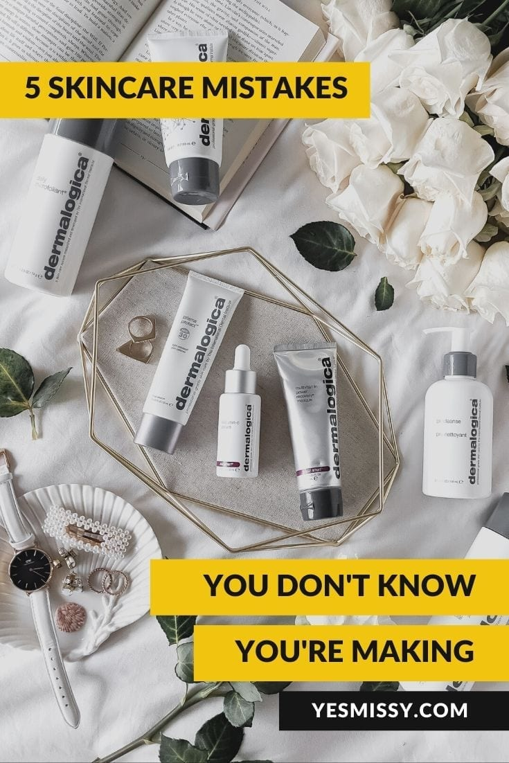 Beauty tip: Skincare mistakes you're probably making feat. Dermalogica
