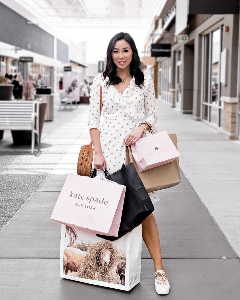 Shopping at Toronto Premium Outlets - Fashion Blogger YesMissy