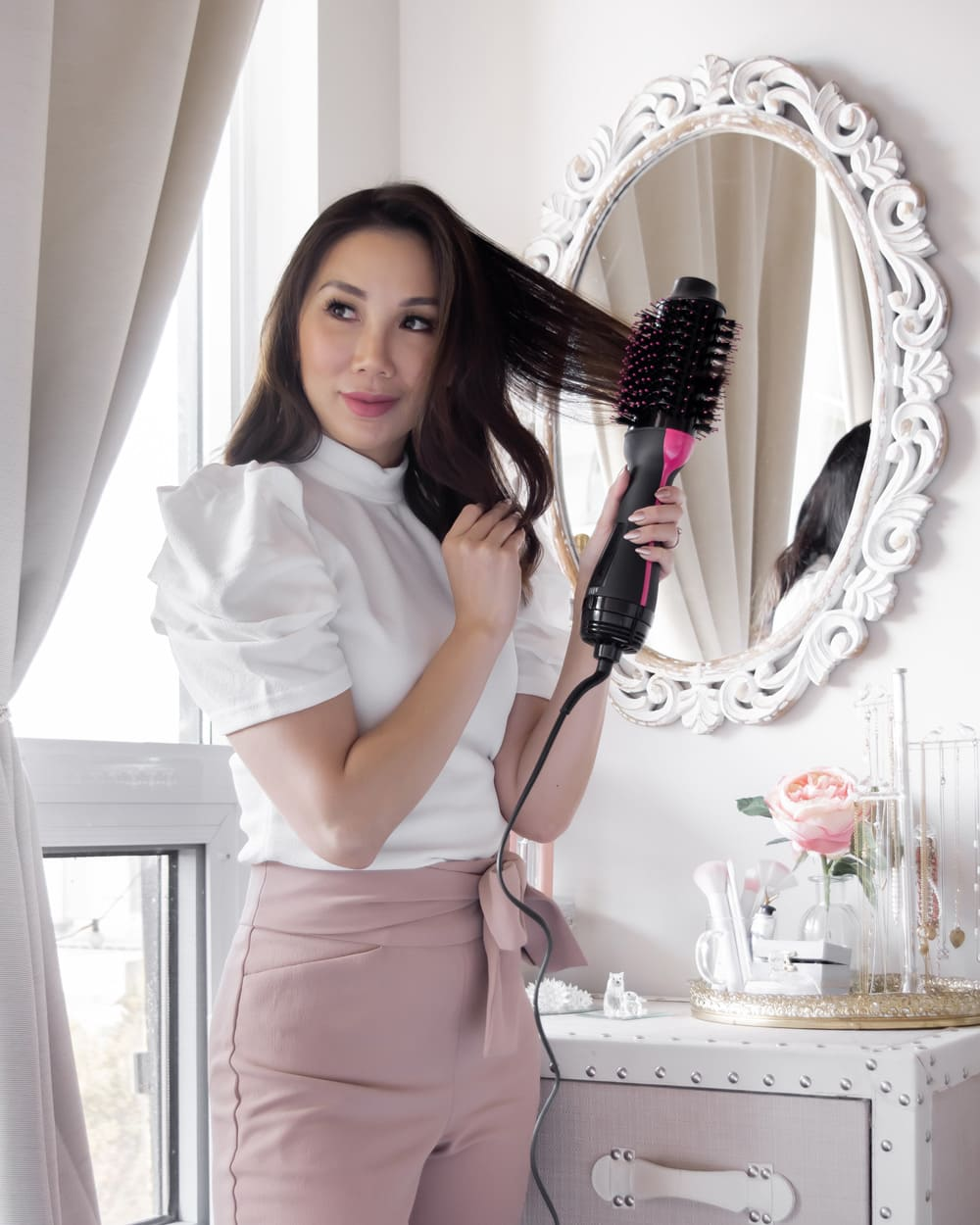 Beauty Blogger YesMissy - Revlon One-Step Hair Dryer And Volumizer Review Re