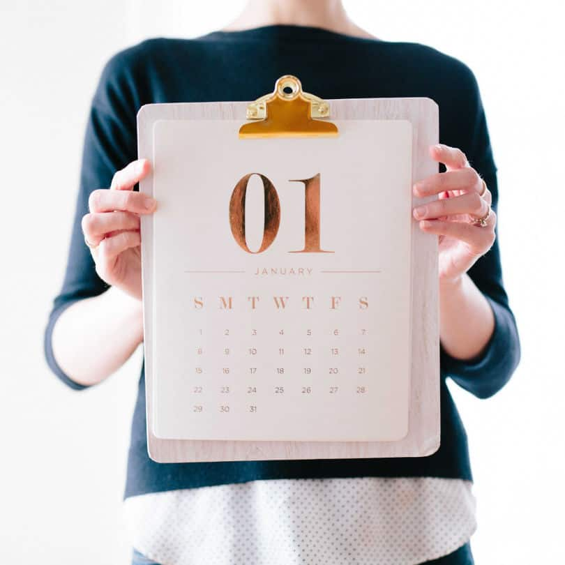 2020 Calendars - 20 Free Printable Calendars to get you organized for the year