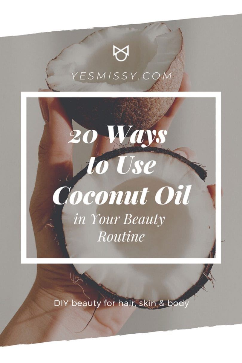 DIY Beauty: 20 ways to add coconut oil to a beauty routine for skin care, hair care, and body