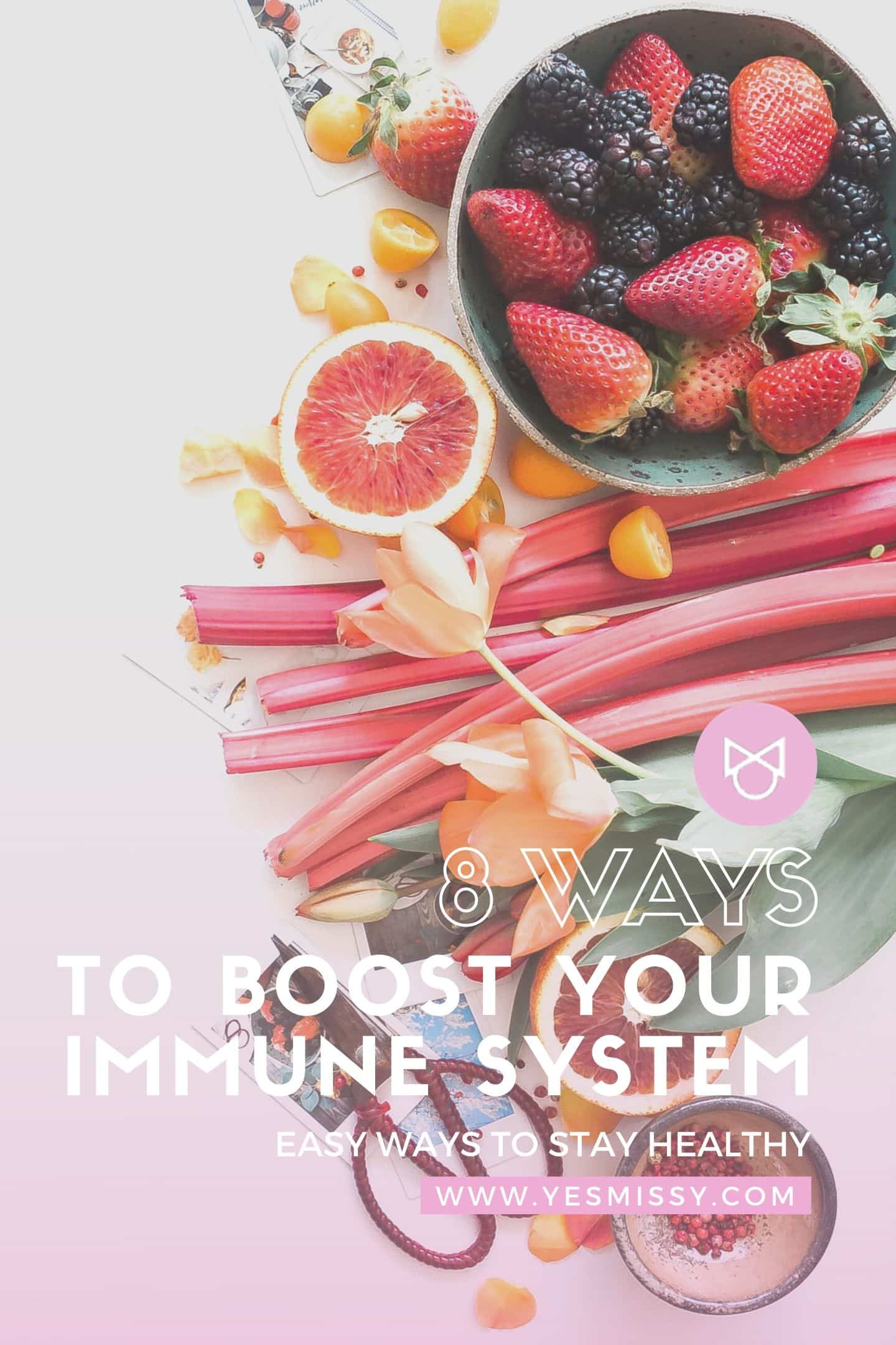 8 ways to boost your immune system - When your immune system is strong, you have a better chance of fighting off colds, flus and other infections.