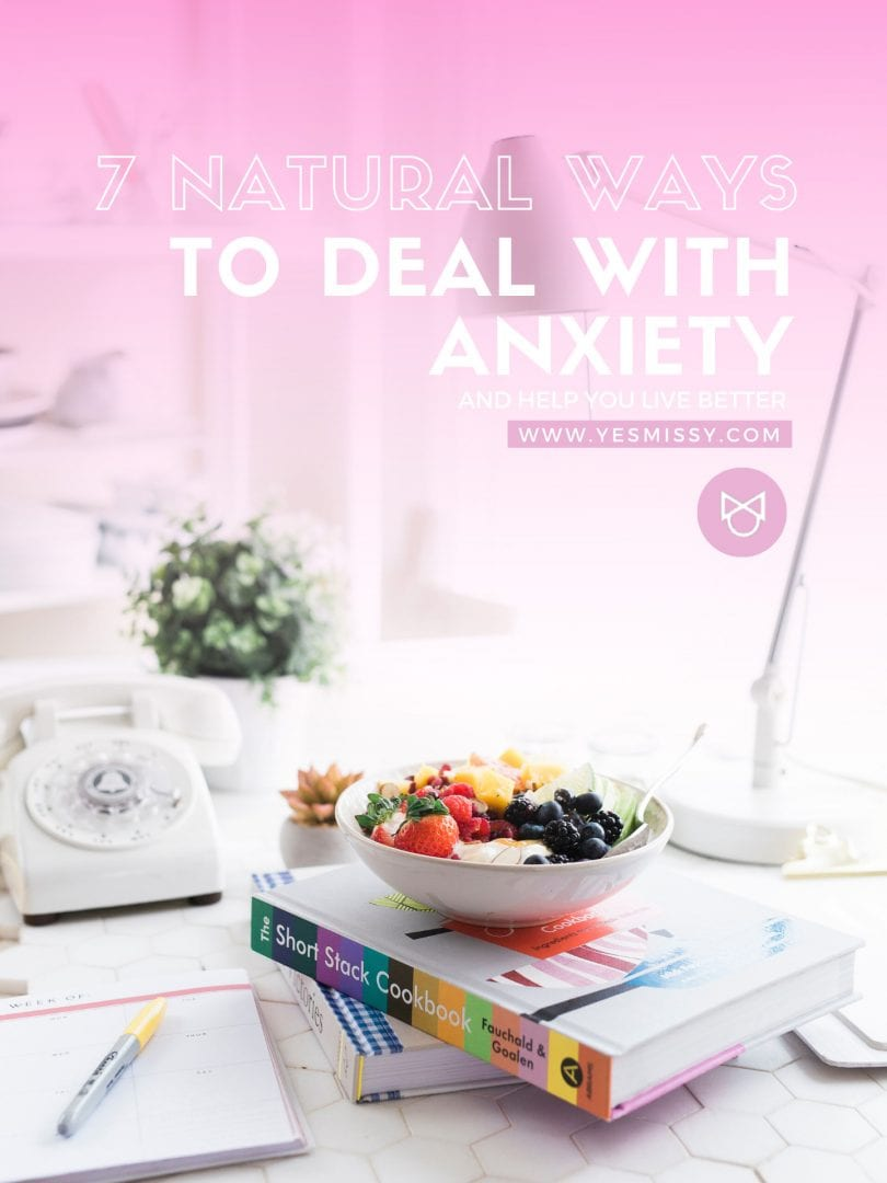 How to cope with anxiety - natural ways of treating anxiety and stress you can do from home
