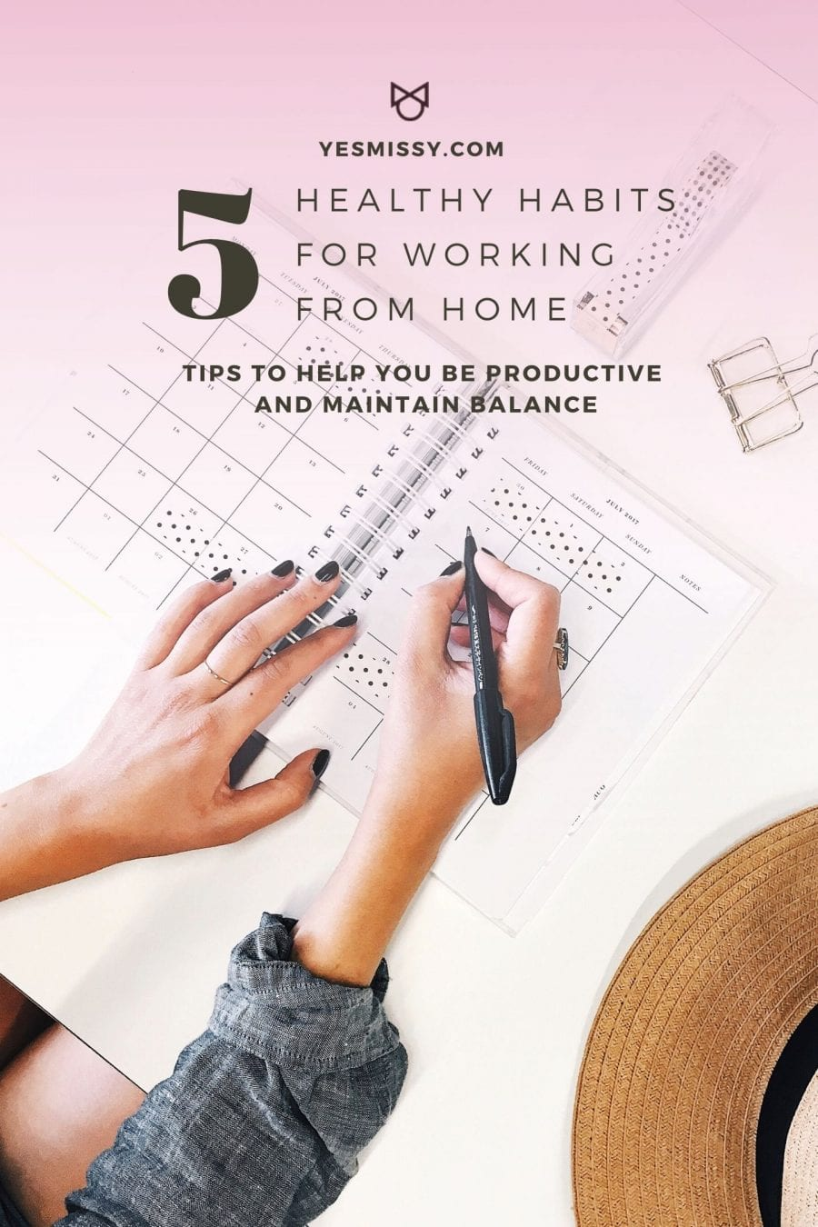 Simple tips to help you work from home and be more productive