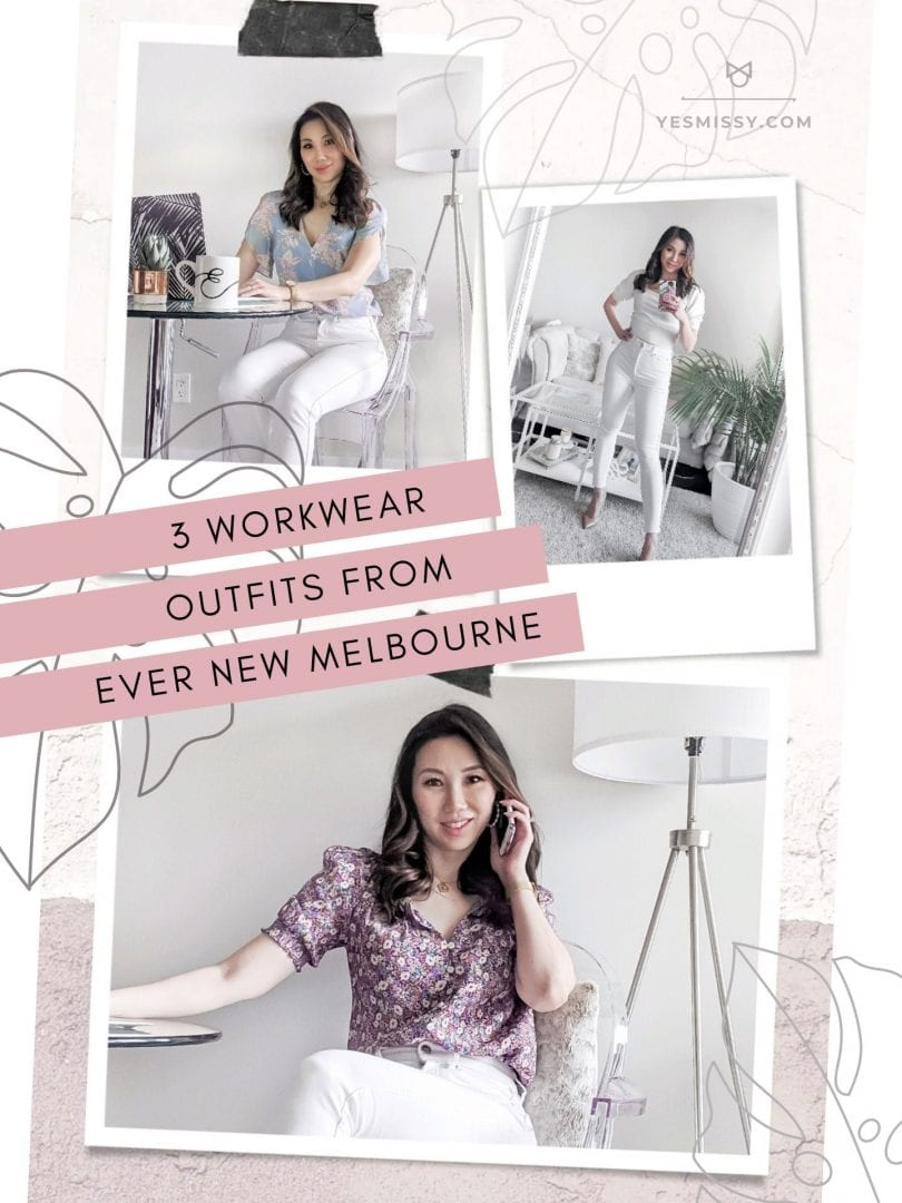 3 ways to wear white jeans for summer styled by Eileen Lazazzera of YesMissy