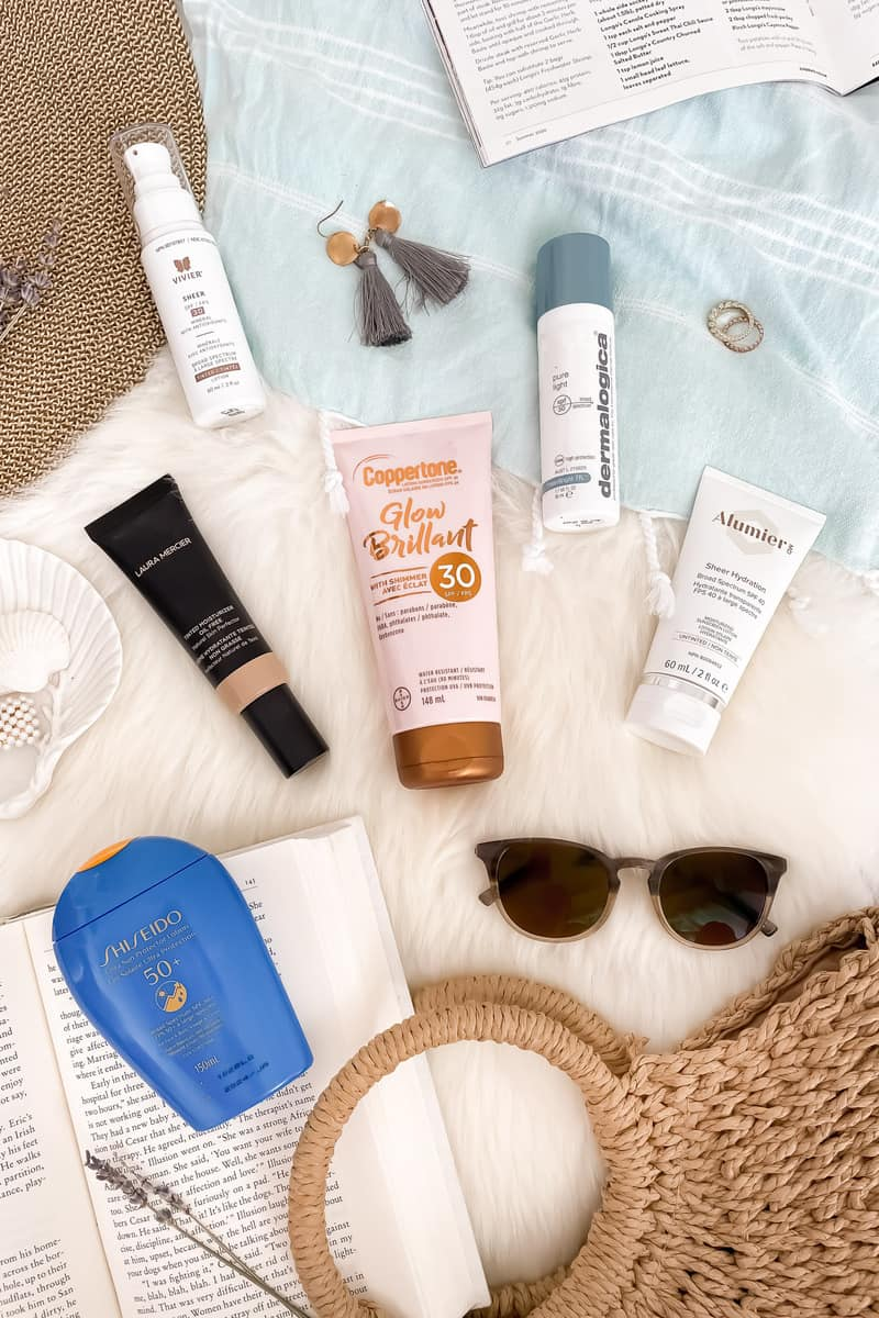 A roundup of the best sunscreens for face depending on your skintype - Favourites from Shiseido, Dermalogica, Laura Mercier and more