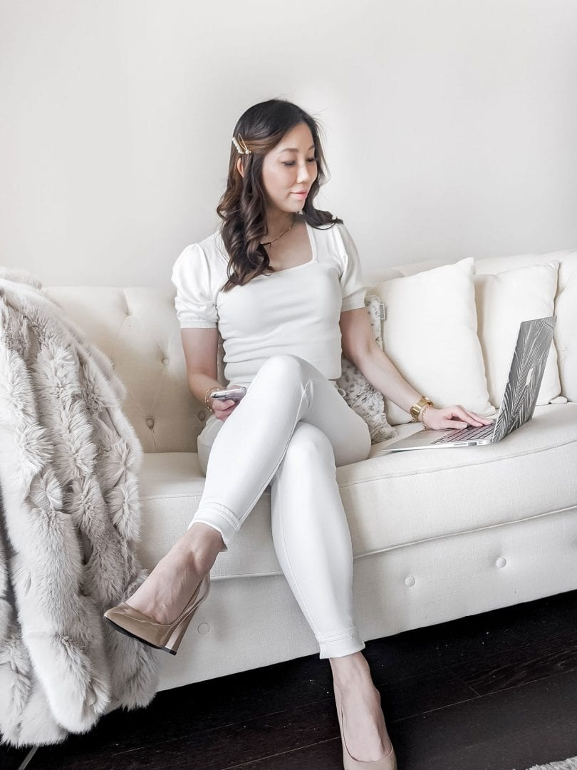 Summer #OOTD: work from home outfit from Evernew Melbourne styled by Eileen Lazazzera of YesMissy