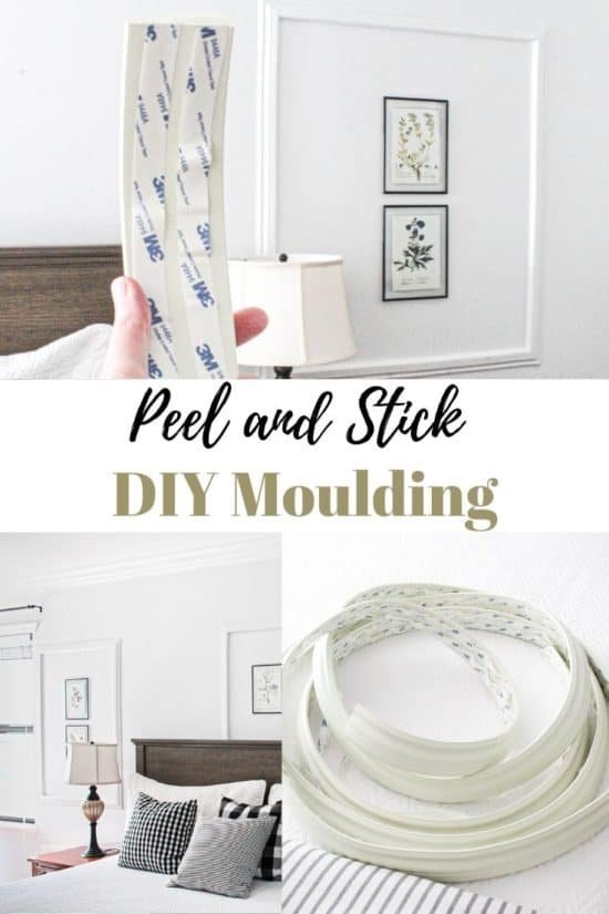 Decorative wall moulding that's easy to do yourself!