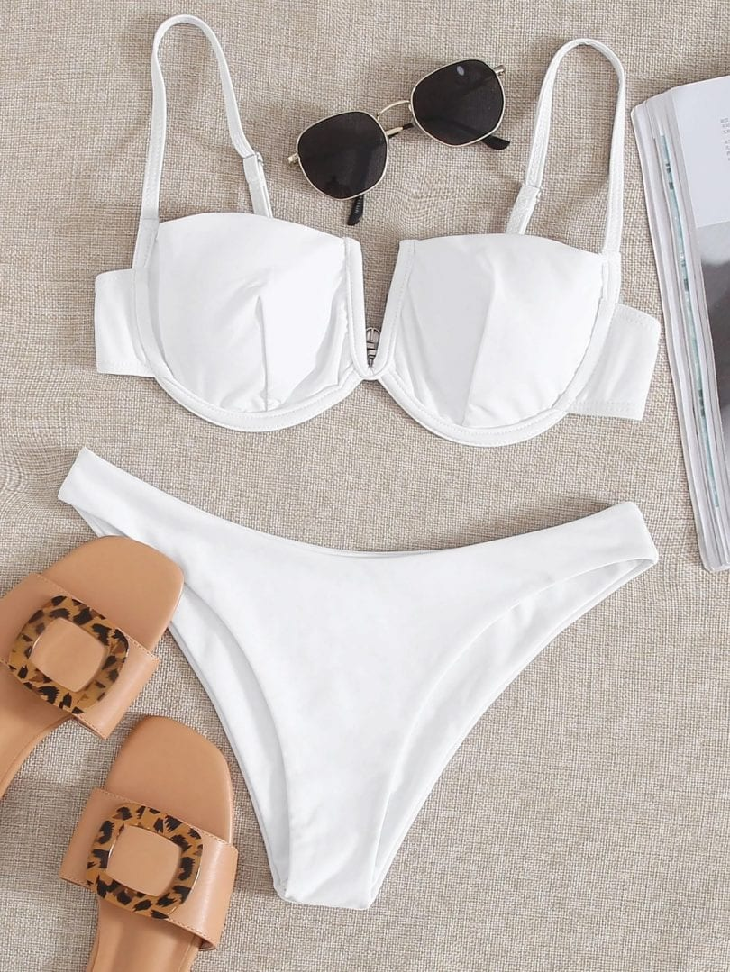 Bikini Trends - underwires to lift and shape. More swimwear ideas at yesmissy.com