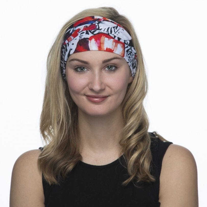 Hoo-rag Tropical Hibiscus Headband