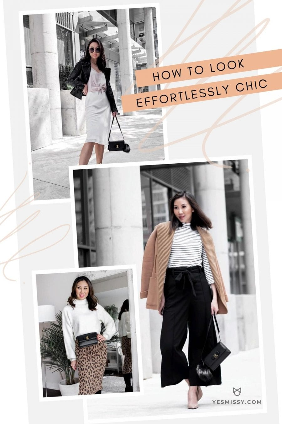 How to look effortlessly chic - 5 tips to looking stylish and put together without trying