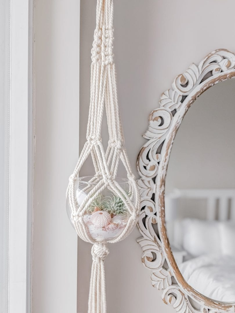 Macrame plant hangers are a great way to decorate your home and display your plants. Follow This step-by-step tutorial
