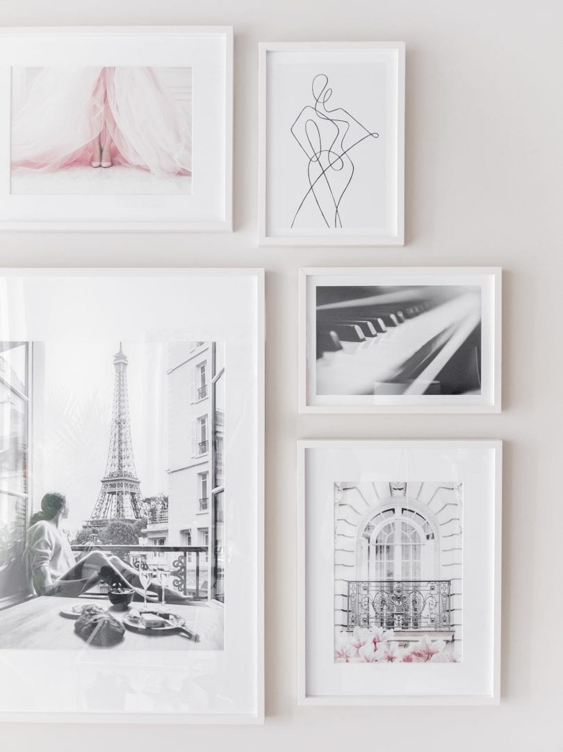 DIY gallery wall inspiration from yesmissy.com