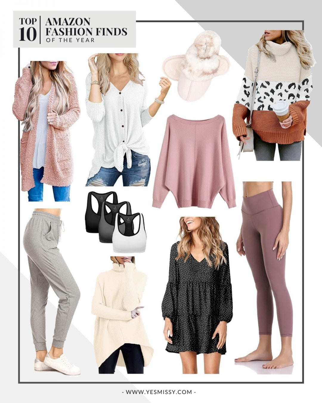 Top 7 Amazon Fashion Finds of the Year - YesMissy