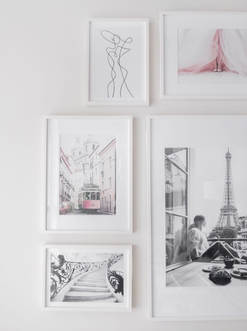 How to make a gallery wall with step-by-step instructions and tips.. more on yesmissy.com
