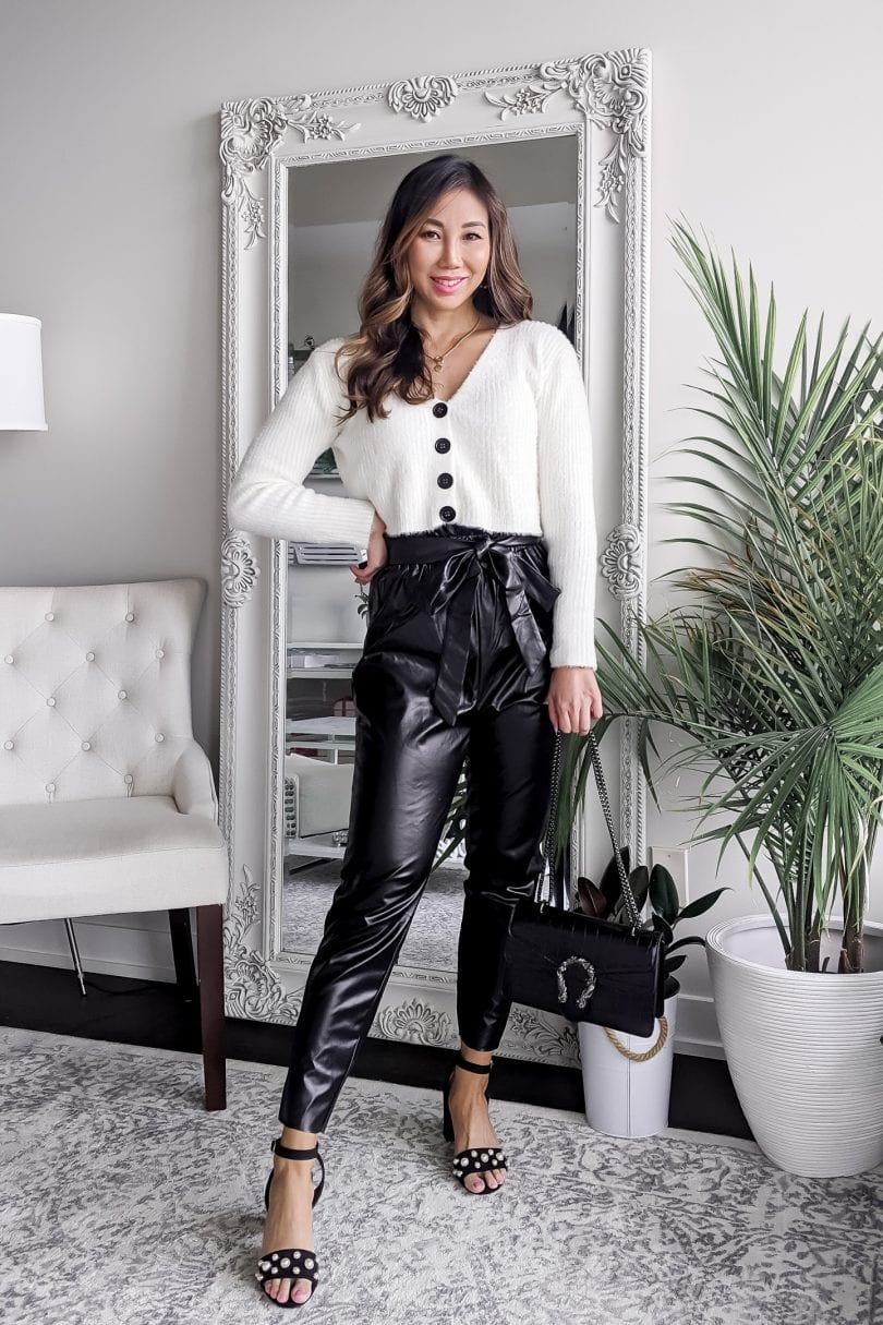 How to wear leather joggers: 5 outfit ideas on how to style leather jogger pants casually, dressed up, and more...